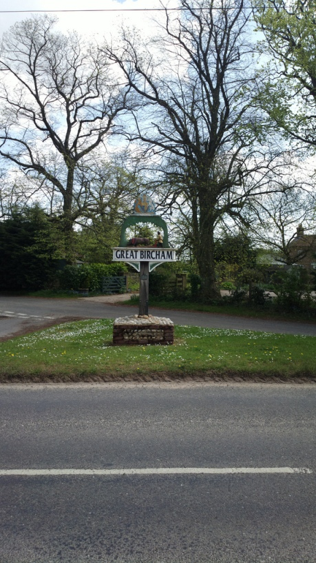 Great Bircham village sign