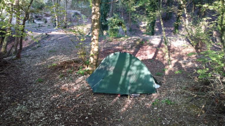 Camp near Ringstead