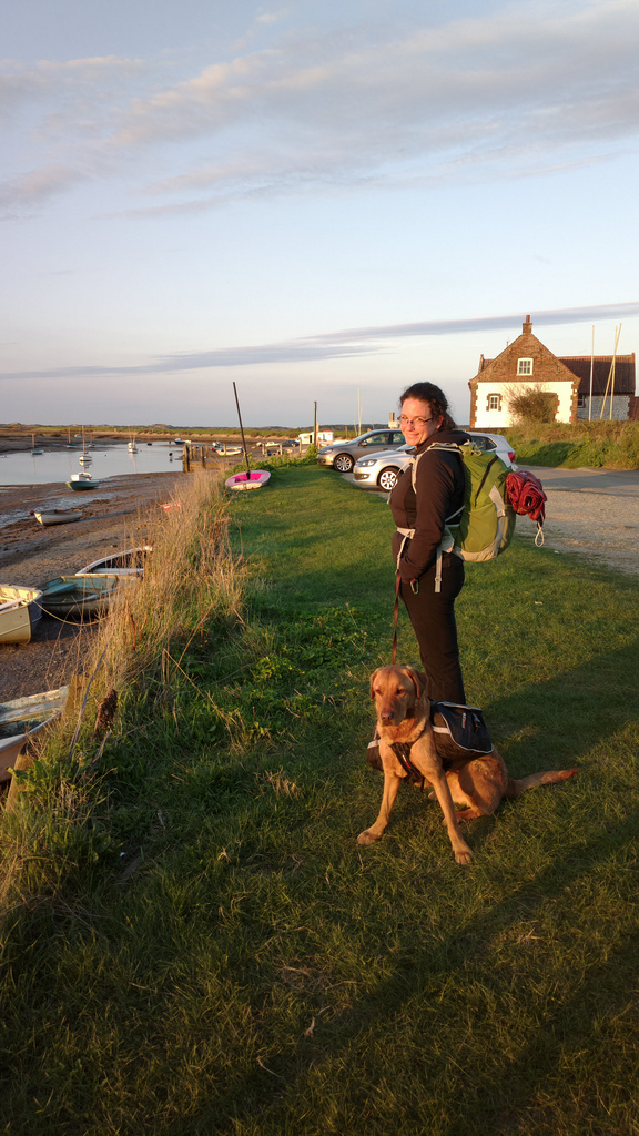 Evening in the harbour at Burnham Overy Staithe