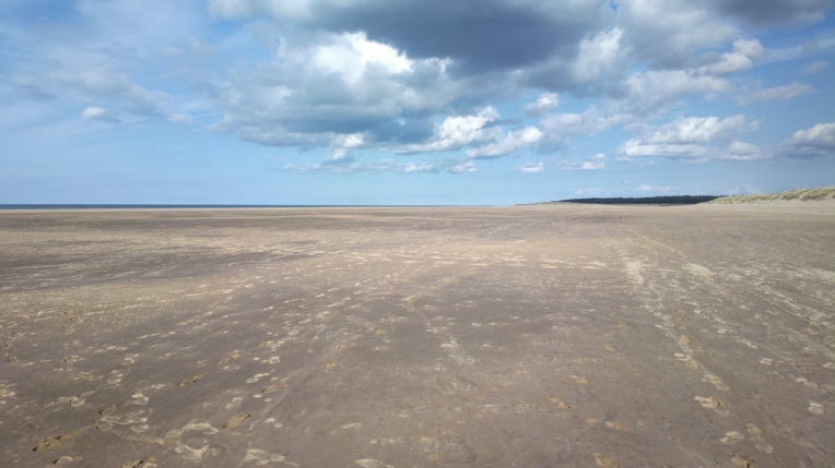 The beach between Holkham and Burnham Overy Staithe