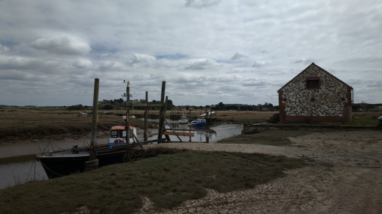 The old boat barn (for sale!) at Thornham