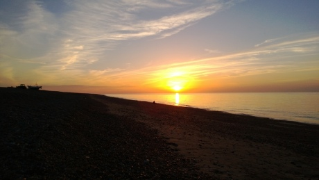 Sunset at Cley Beach