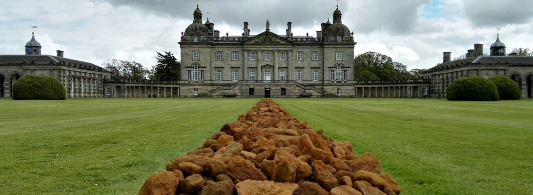 Earth Sky, Richard Long at Houghton