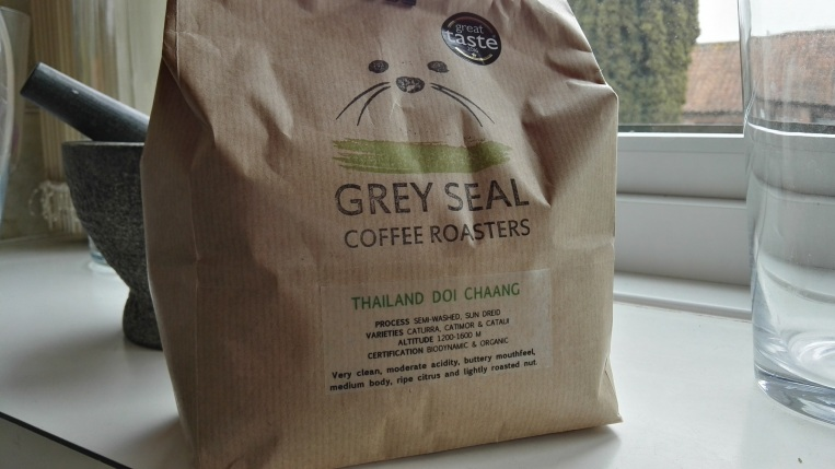One of Grey Seal's award winning coffee roasts